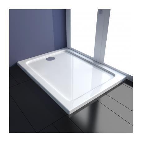 receveur de douche 80x100 achat vente pas cher. Black Bedroom Furniture Sets. Home Design Ideas