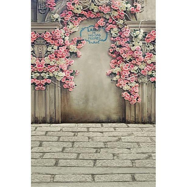 150 200cm photographie de mariage fond la photographie toile de fond fleur avec les milieux de. Black Bedroom Furniture Sets. Home Design Ideas