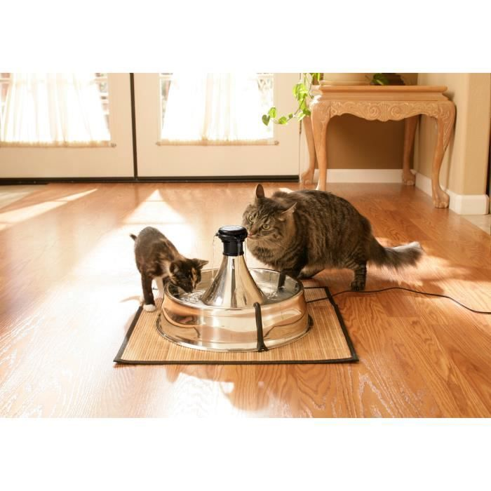 Drinkwell Fontaine Inox 360° - Pour Chat Et Chien