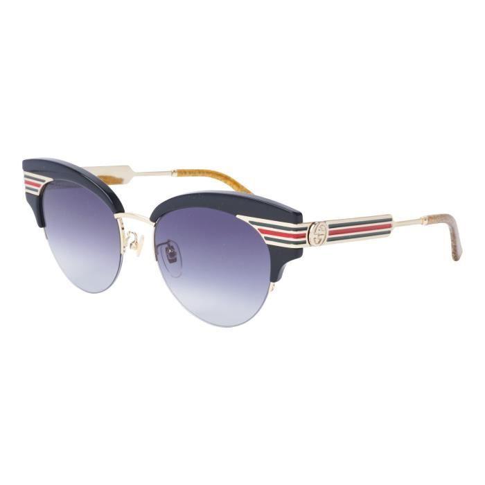 Lunettes de soleil Gucci GG-0283-S -001 - Achat   Vente lunettes de ... aa68748a4f6f