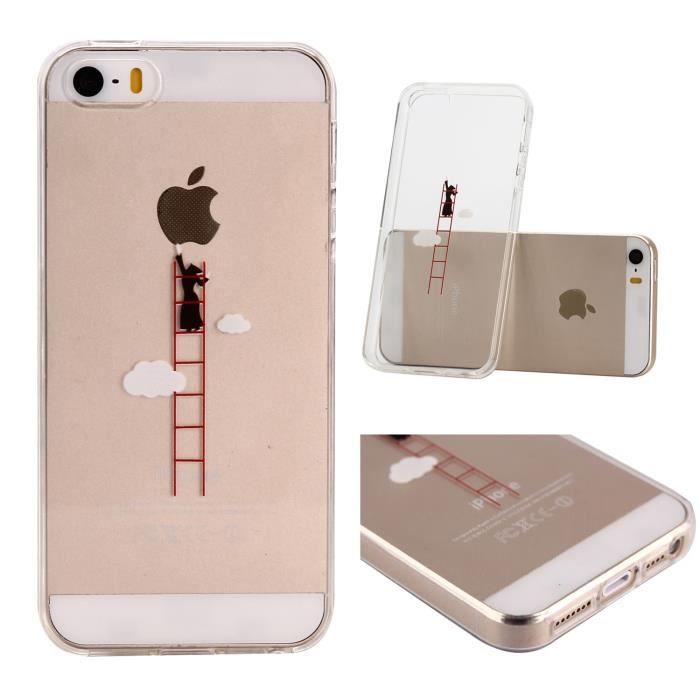 coque iphone 6 silicone pomme