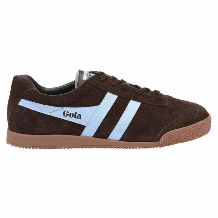 Chaussures femme Baskets Gola Harrier New Suede