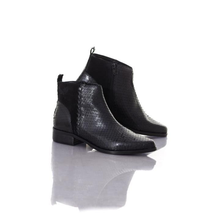 Kaporal Shoes Boots - bottes Nathalie noir 10505