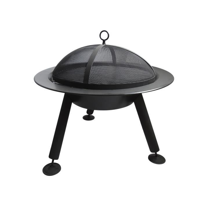 Brasero Extrieur Avec Grille Barbecue Rond  Achat  Vente Barbecue