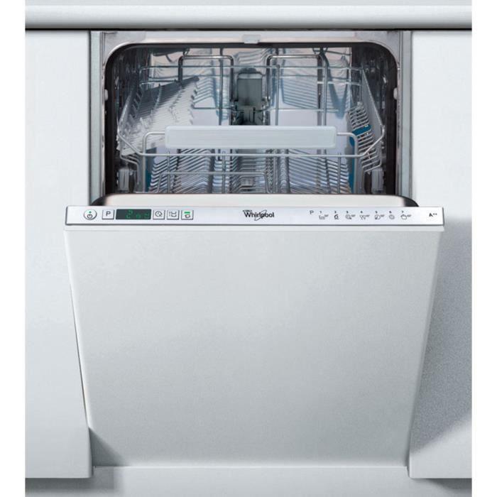 lave vaisselle whirlpool 45cm - achat / vente lave vaisselle