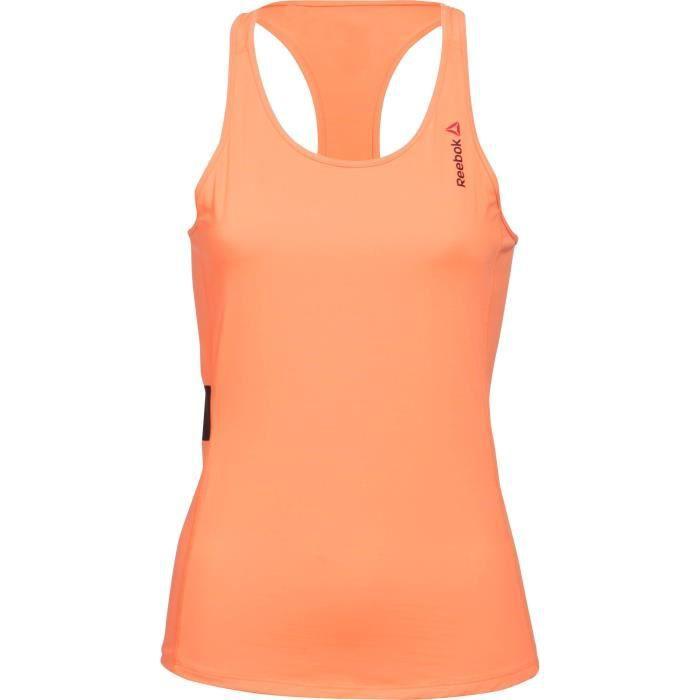 REEBOK Débardeur Femme OS AC Tank - Femme - Orange