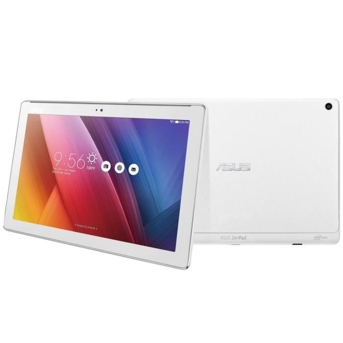 """TABLETTE TACTILE ASUS Tablette Tactile ZenPad Z300M blanc 10,1"""" - 2"""