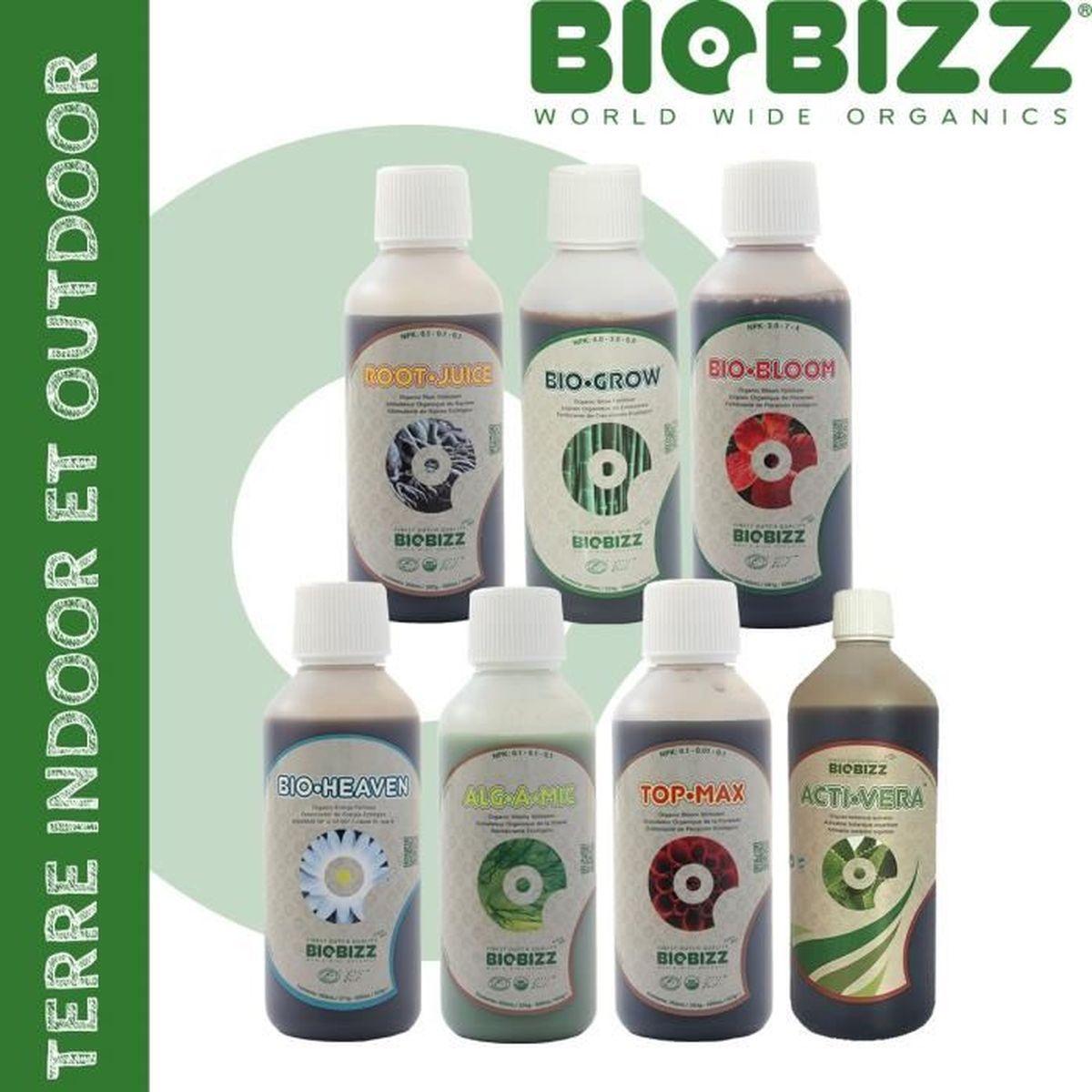 Pack engrais biobizz achat vente pas cher for Pack chambre de culture pas cher