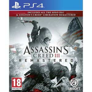 JEU PS4 Pack Assassin's Creed 3 + Assassin's Creed Liberat