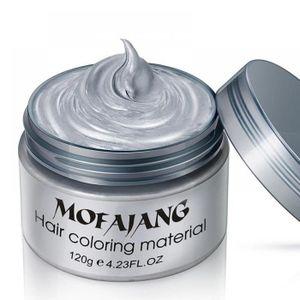 COLORATION 7 couleurs Cire à cheveux Styling jetable de coule