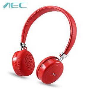 CASQUE - ÉCOUTEURS AEC BQ668  Rouge Écouteurs intra-auriculaires sans