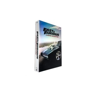 DVD FILM DVD Fast and Furious (1-8) - L'intégrale 8 films (