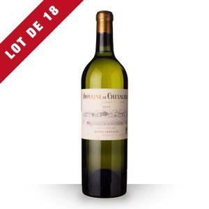 VIN ROUGE 18x Domaine de Chevalier 2015 AOC Pessac-Léognan -