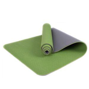 TAPIS DE SOL FITNESS Yoga épais durable 6MM tapis anti-dérapant exercic 055e890cc2d