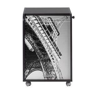CAISSON DE BUREAU  Caisson de bureau 2 tiroirs Tour Eiffel Contempora