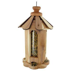 MANGEOIRE - TRÉMIE Nature Marke - Mangeoire Petite Fleur pour Oiseaux