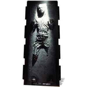 OBJET DÉCORATIF Figurine en carton taille réelle Han Solo Carbonit