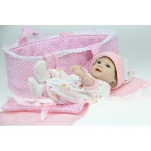 POUPÉE 28cm doll haute qualité Silicone bébé reborn poupé