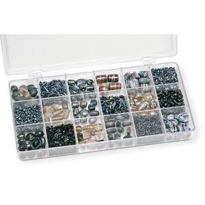 Perles KNORR PRANDELL Boîte de Perles Noir 200 g