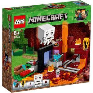 ASSEMBLAGE CONSTRUCTION LEGO® 21143 Minecraft TM : Le portail du Nether ai