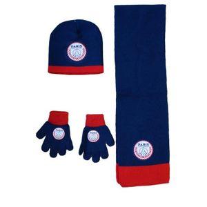 56fd1ef0d2a9 BONNET - CAGOULE PSG ensemble bonnet echarpe gant paris saint germa