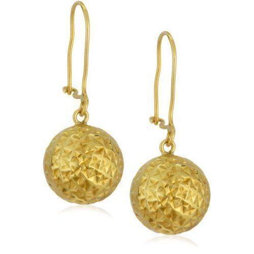 Boucles d`oreilles pendantes - Femme - Or jaune 9 carats 1.3 Gr