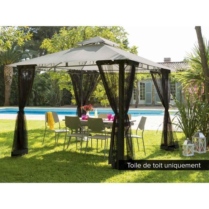toile de toit pour tonnelle hesp ride fogo 3 x 3 m achat vente tonnelle barnum toile de. Black Bedroom Furniture Sets. Home Design Ideas