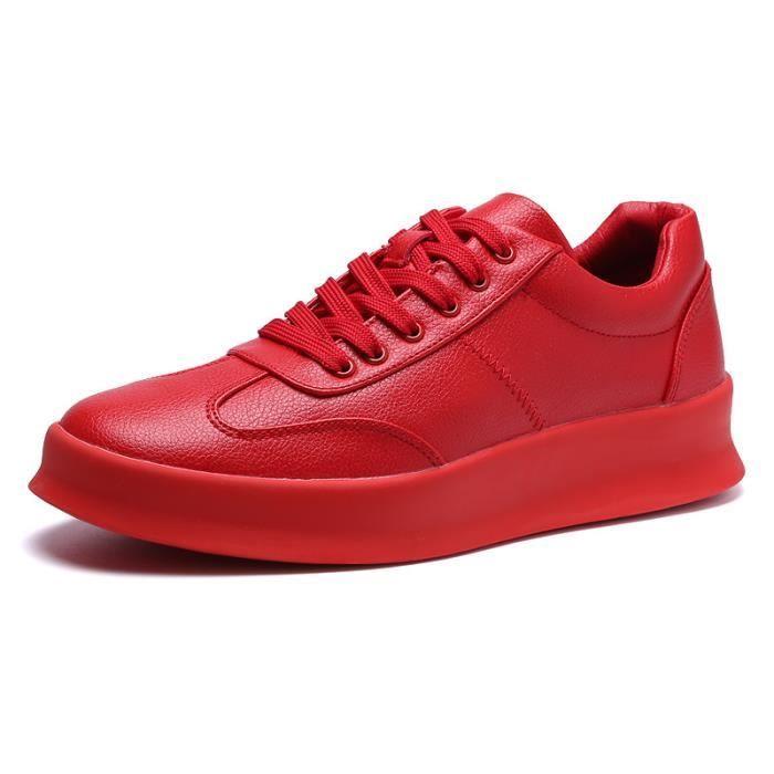 JOZSI Chaussure Homme Cuir Automne et Hiver Classique Chaussures de ville FXG-XZ186Noir CL7Bkvb