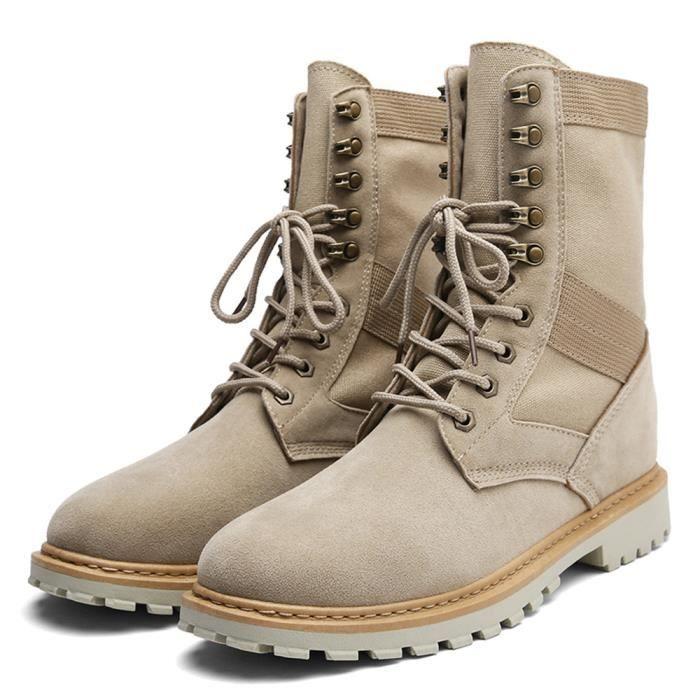 CUSSELEN Respirant Nouveauté Qualité Champ Chaussure Confortable résistantes AntidérapantAdulte Homme Mode Botte l'usure à raHqrzx