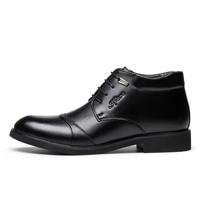 Hommes Cuir Chaussures Bottes