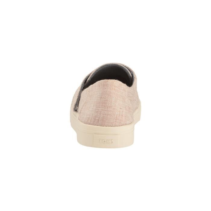Toms Altair Slip-on Pale Pink Lurex Woven Loafer JDEH4 Taille-37