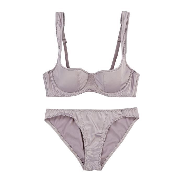 75b Panty 2017 Lingerie gorge jaune Soutien Intimates Sous Femmes Set Sexy vêtements fpwPqPS