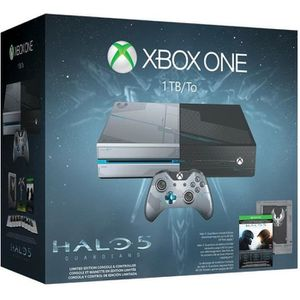 CONSOLE XBOX ONE NOUV. Xbox One 1 To Ed Collector + Jeu Halo 5