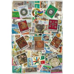 TIMBRE Pakistan -  500 timbres collection différents o…