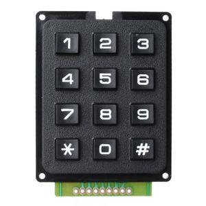 PAVÉ NUMÉRIQUE Pave Numerique Bricolage 3 * 4 12-Key Numeric Keyp