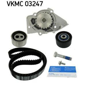 KIT DE DISTRIBUTION SKF Kit de distribution + pompe à eau VKMC 03247