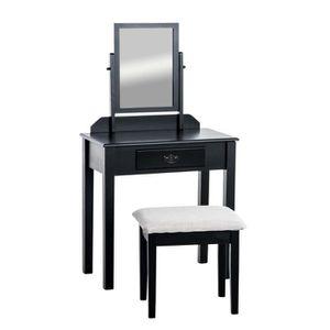 COIFFEUSE CLP Table de maquillage LEONOR, commode avec un mi