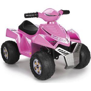 QUAD - KART - BUGGY FEBER - Quad Racy Pink - Véhicule Electrique pour