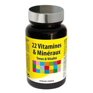 TONUS - VITALITÉ 22 Vitamines & Minéraux Vitalité & Défenses Nature