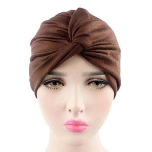 935e0b81d505 ECHARPE - FOULARD Femme Chapeau Islamique Couleur Uni Indiens