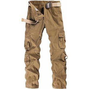 grand assortiment nouveau sélection style actuel Pantalon cargo homme militaire multi poches