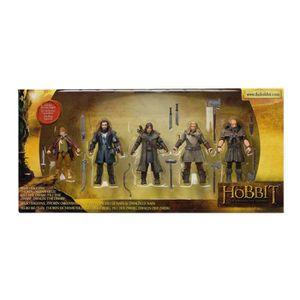 FIGURINE - PERSONNAGE The Hobbit - Pack de 5 Figurines articulées 9cm