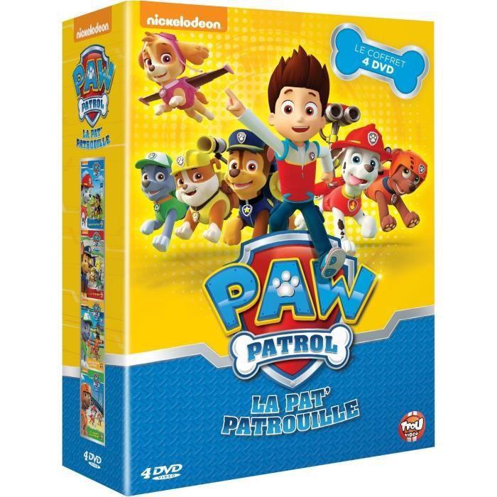 dvd dessin anim dvd coffret paw patrol super pompier sauvet - Pat Patrouille Dessin Anim