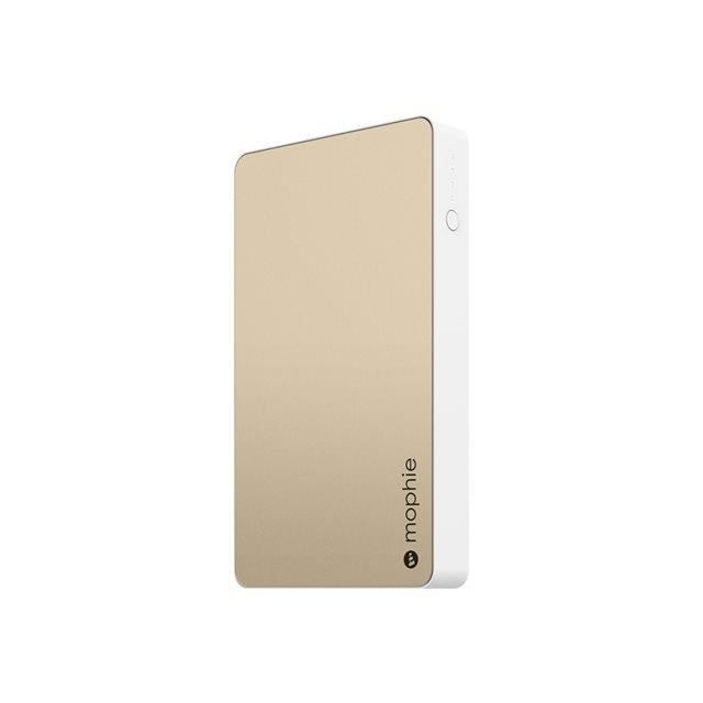 Mophie Powerstation 6000 mAh gold colored