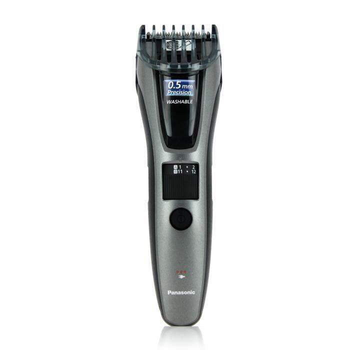 PANASONIC ER-GB60-K503 Tondeuse cheveux et barbe - 40 positions - Noir