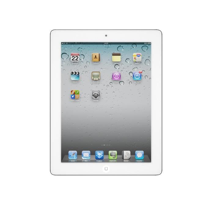 TABLETTE TACTILE IPAD 2 64GO 3G BLANC