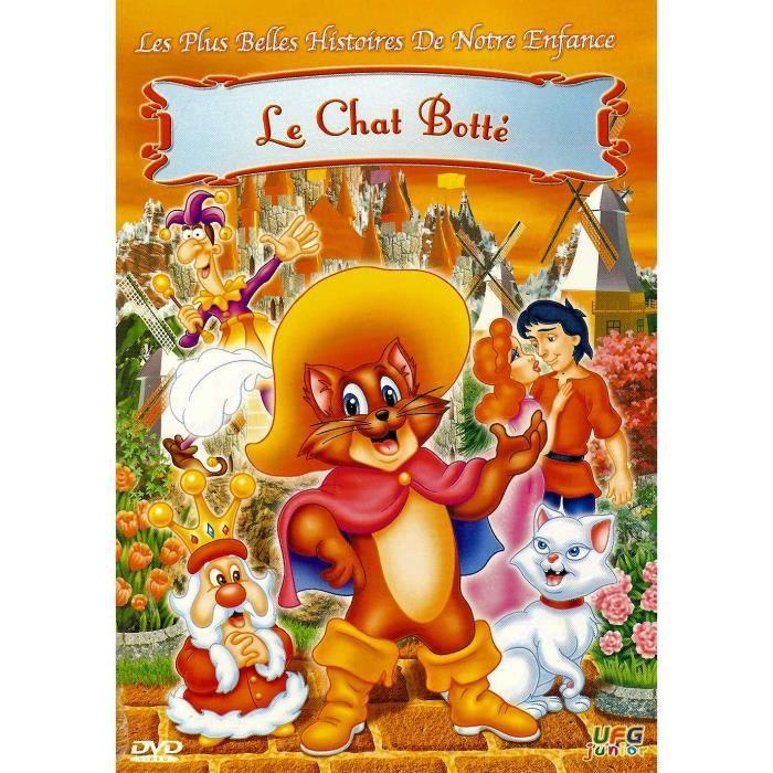 Le Chat Botte Ufg Junior En Dvd Dessin Animé Pas Cher Cdiscount