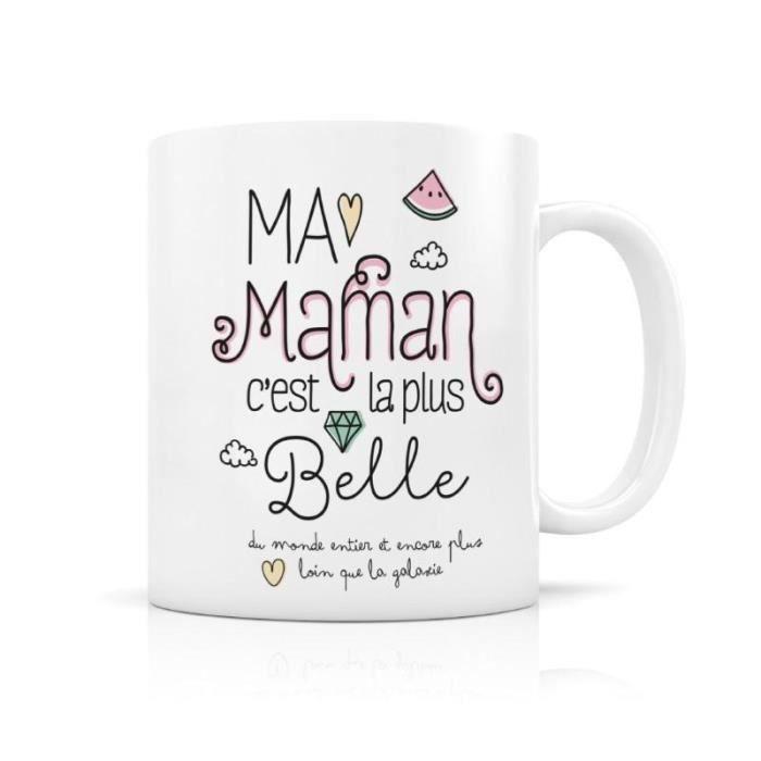mug cadeau maman achat vente mug cadeau maman pas cher cdiscount. Black Bedroom Furniture Sets. Home Design Ideas