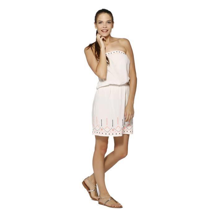 La Ptite Etoile Robe Femme - PASSION - ECRU