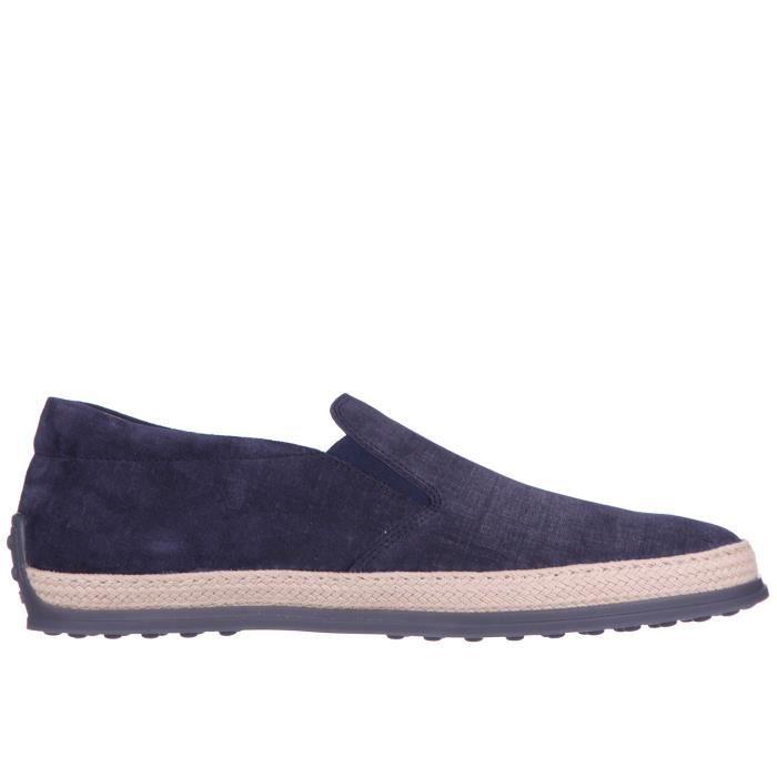 Slip on homme en daim sneakers Tod's v84l8zcK2I